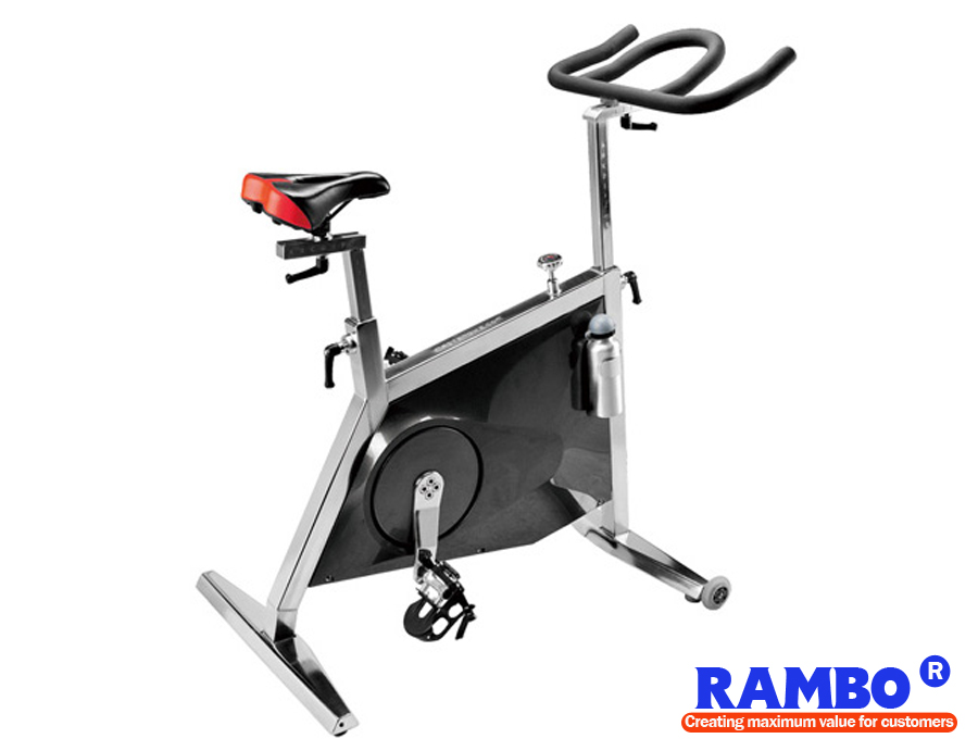 Super Commercial Stainless Steel Spin Bike Exercise Bike RB-WS-80