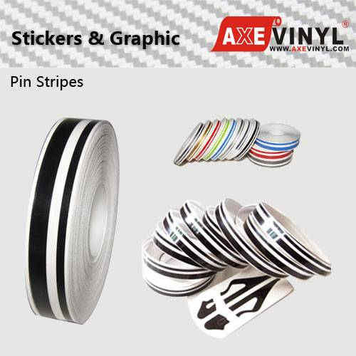 Axevinyl Factory Direct Sale Premium Quality Pinstriping 8/16 Inch Pin Stripe Tape for Car Decoratio