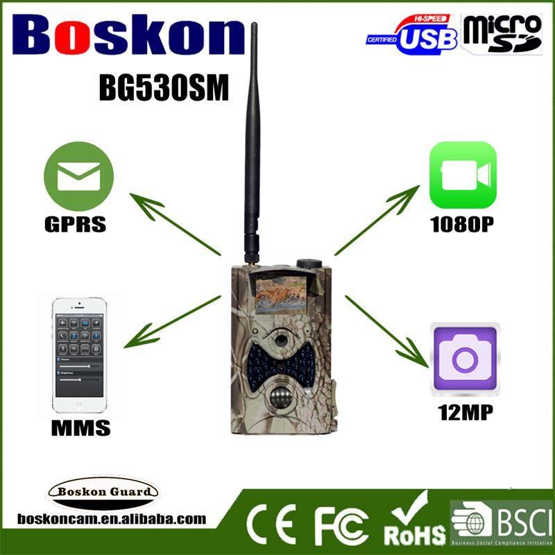 New 12MP 1080P Wireless  MMS GPRS Hunting Trail Camera