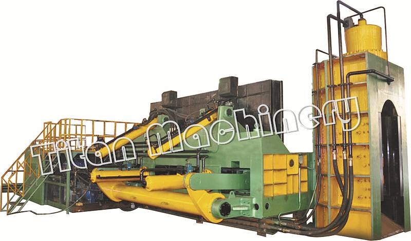 Q91 series hydraulic baling shear