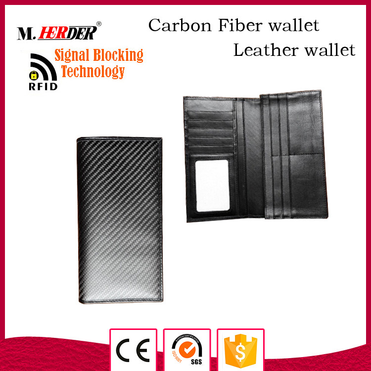 Fashion rfid blocking card holder wallet