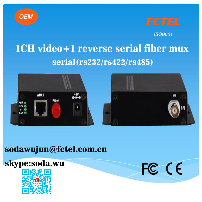 1 channel video transmitter and receiver