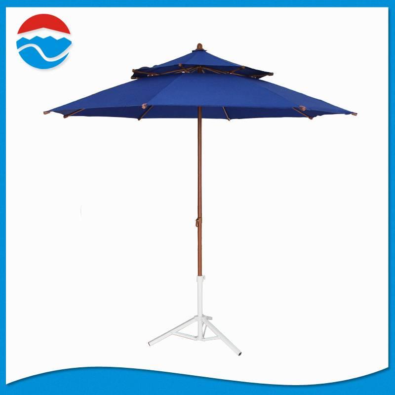 240*8K blue color double lay parasol