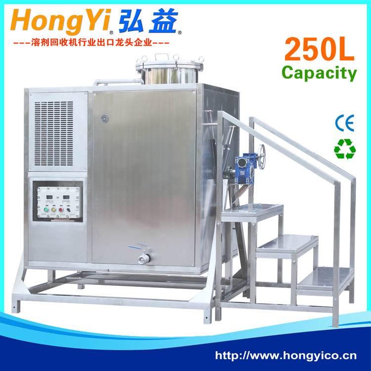 Solvent distillation system for indusry waste solvent