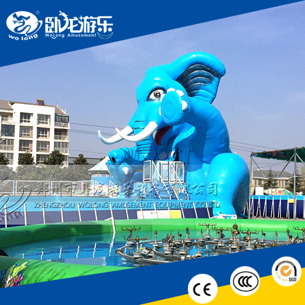 Superior Quality inflatable water park slides for sale