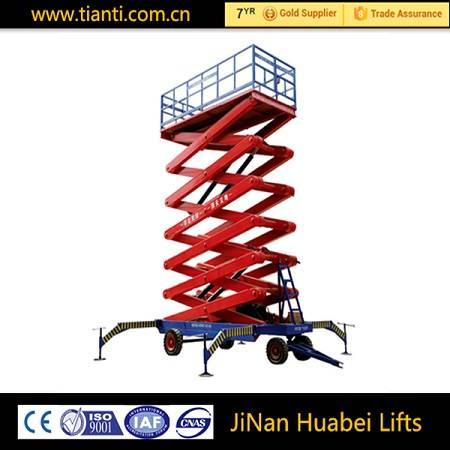 China portable scissor hydraulic lift