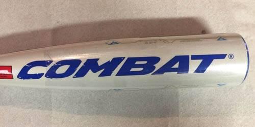 2016 Combat MAXUM SL 2717 -10 MAXSL210 USSSA Lizard Skin Baseball Bat