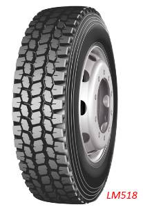 Double Coin/Longmarch/Roadlux China Drive Truck Tire (LM518)