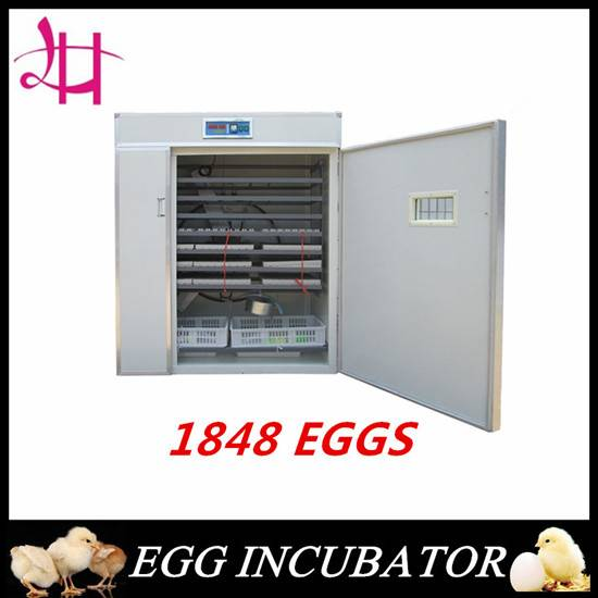 Fully incubator  hatching machine Mode in Lingheng 1848eggs incubator
