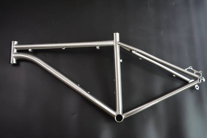 high performance GR9-Ti titanium mtb frame OEM