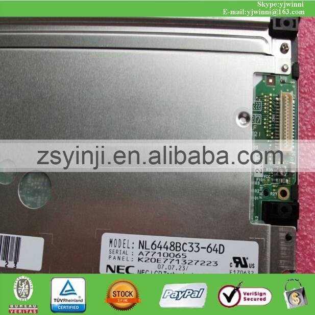 NEC NL6448BC33-64 NL6448BC33-64C NL6448BC33-64D NL6448BC33-64R TFT LCD PANEL