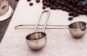 Hight quality staniless steel coffee scoop