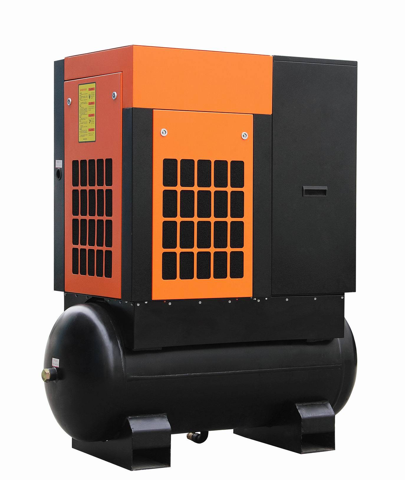 15kw/20HP China Champion Air Compressor with Tank and Dryer