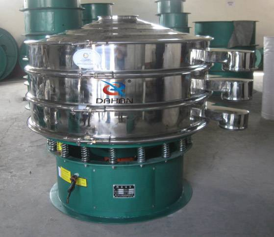 china Standard stainless steel vibro machine double deck vibrating screen