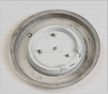 Kettle heating plate