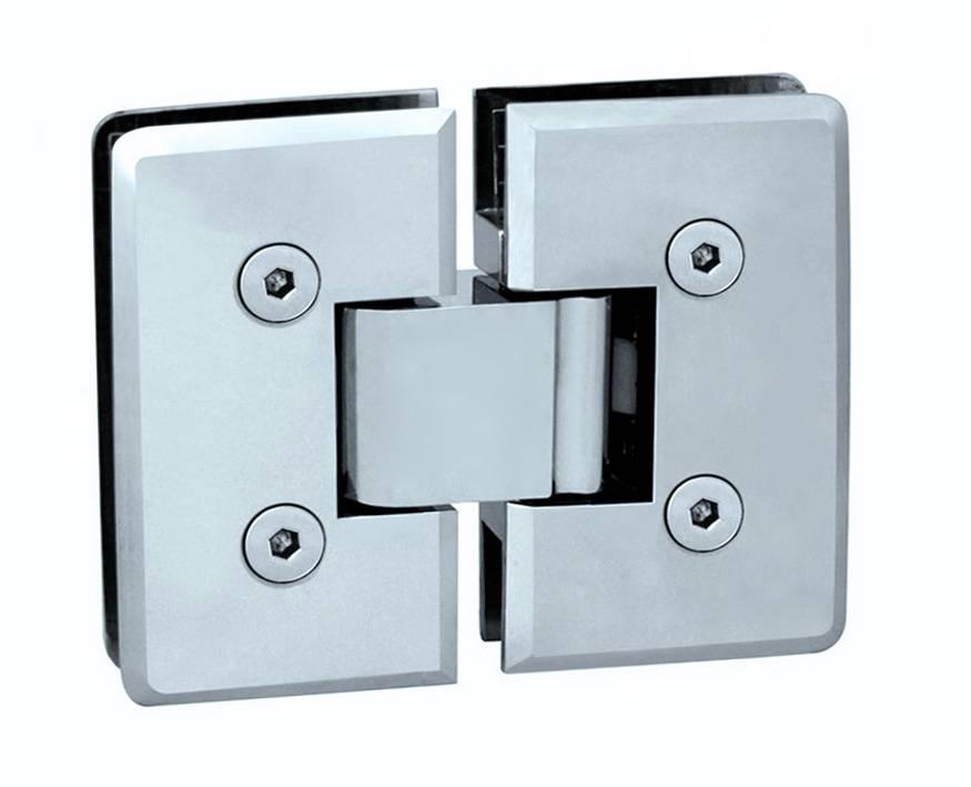 Brass Shower Hinge/Glass Door Hinge/Deg360 Glass to Glass L-4142