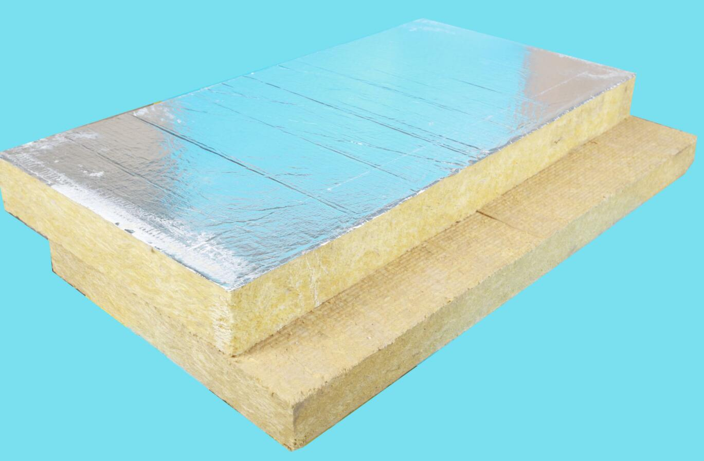 rock wool board with aluminum foil