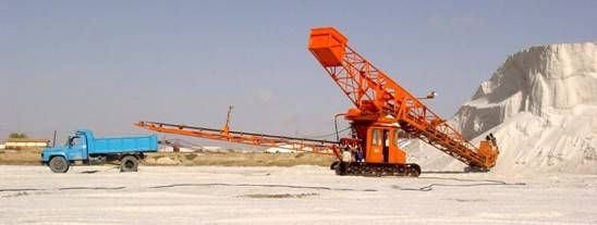 Bucket Wheel Material Picking Machine