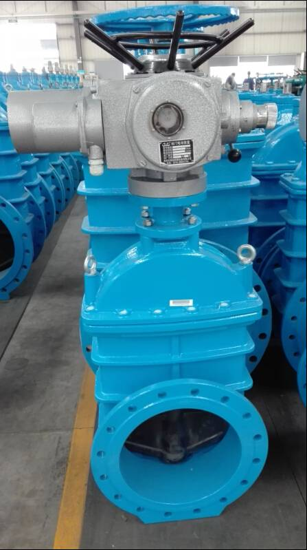 Electric Actuated Resilient Seated Gate Valve