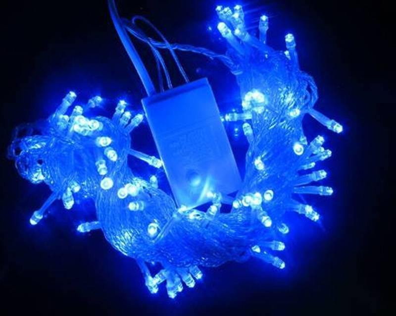 Retail&Wholesale 100 LED String Light 10M 220V Decoration Light for Christmas Party Wedding Waterpro