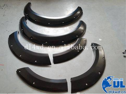 Wheel arch fender flares for Mitsubishi Pajero Sport 2014 car fender