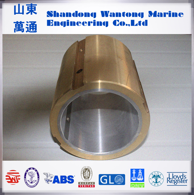 Stern tube bearing oil lubrication White Metal Bearing of vessel