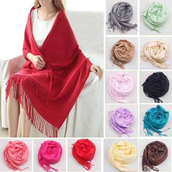 Multi Colors Womens Cashmere Scarves