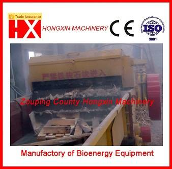 waste wood board crusher machine with nail seperator