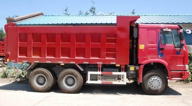 HOWO tipper/6*6 dump truck/high quality and low price dump truck/all drive tipper