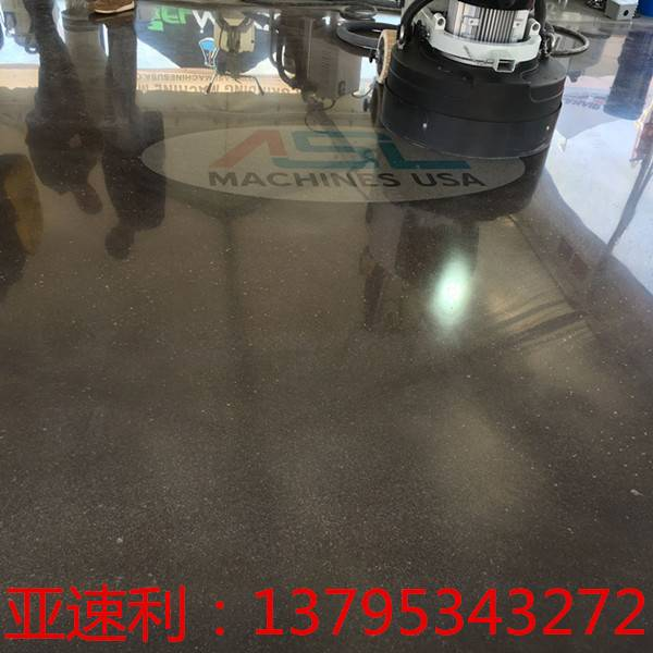 5HP  big area Three Disc floor grinding machine concrete polishing machine