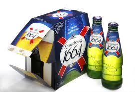 French Kronenbourg 1664 Beer 330ml
