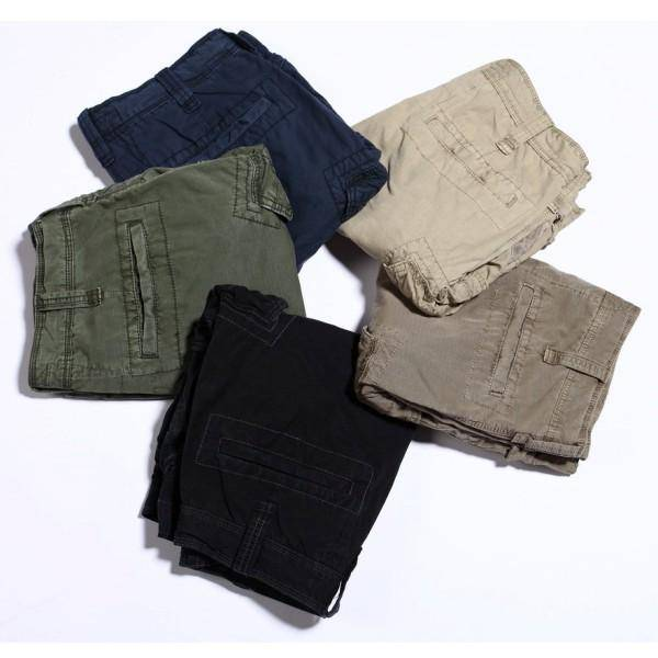China manufacturer customized 2014 summer 100% cotton mens belted cargo pocket shorts