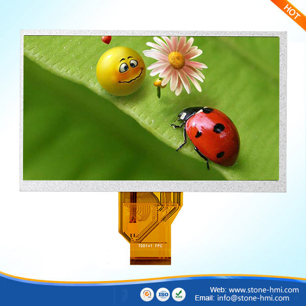 7inch tft lcd module with capacitive touch panel