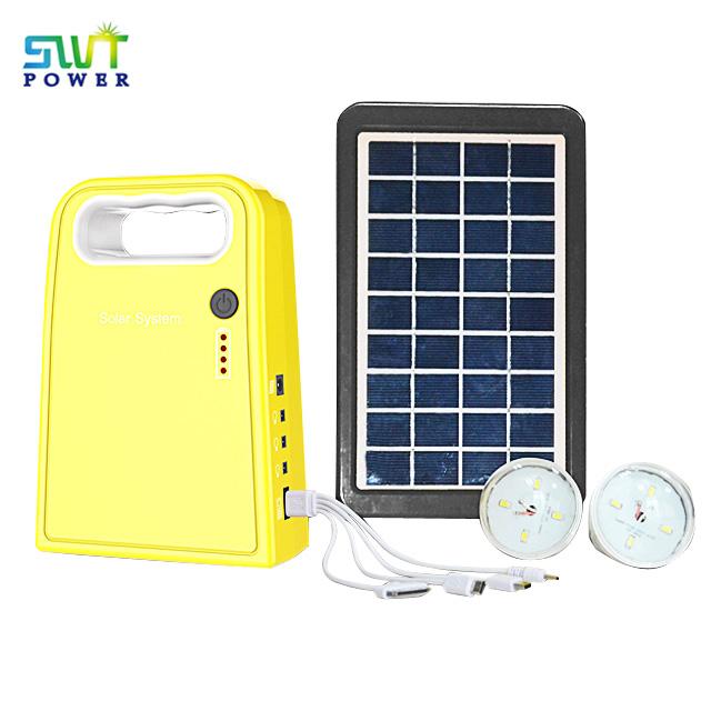 SG0603W Series 9V 3W Panel DC Solar Led Light System, Outdoor Solar Garden Light