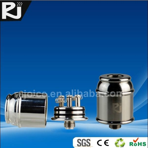 SAW3 High Quality Stainless steel rebuildable mechanical Atomizer,better than EGO, with drip tip,inh