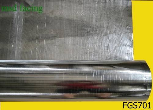 Fiberglass fabric laminate aluminum foil or PET film (FG)