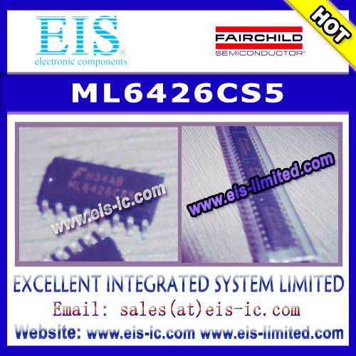ML6426CS5 - FAIRCHILD - HIGH POWER SWITCHING APPLICATIONS MOTOR CONTROL APPLICATIONS