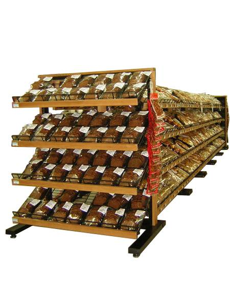 Bakery Rack, Island End Section, Adjustable Bracket & Height