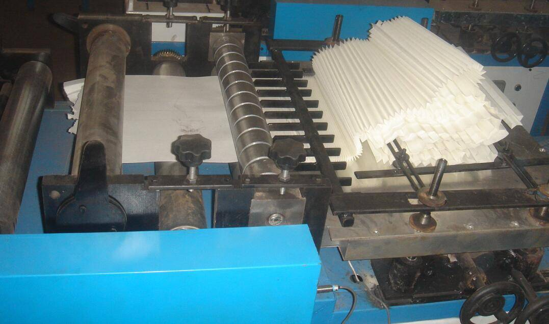 650mm width Rotary type filter paper pleating machine