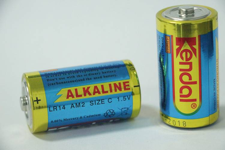 LR14 C Am2 alkalline battery 1.5V