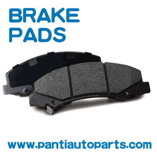 Front ceramic brake pads For Toyota