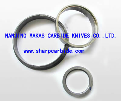 solid carbide seal rings, cemented carbide seal rings, sintered carbide seal rings, tungsten carbide