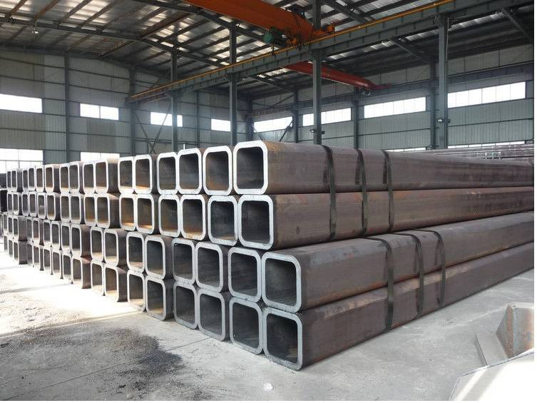Railway Constructions Cold Formed Seamless Steel Square Tubing ASTM A500