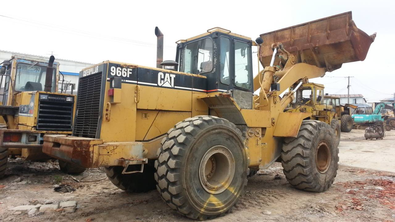 Used Cat 966F-1 Wheel Loader, Used Loader Caterpillar 966F-1