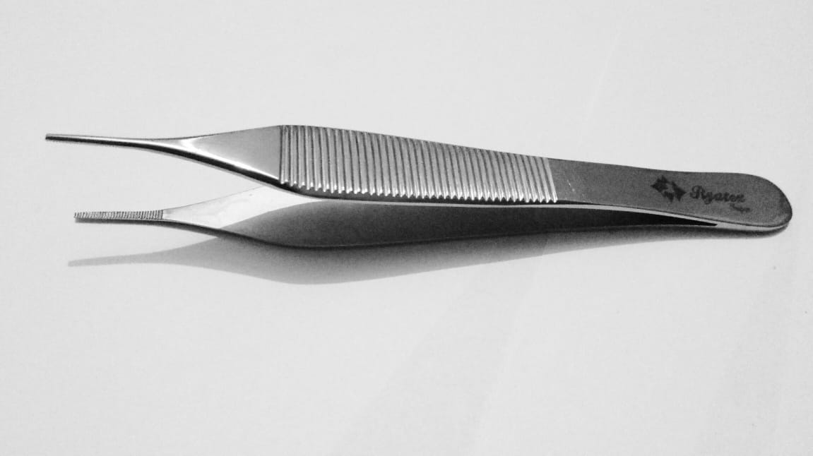 Adson Forcep Serrated 12cm