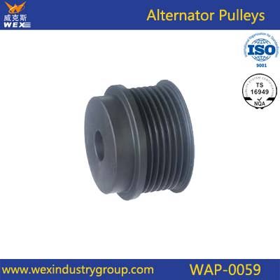pulley for alternator auto parts 1126601533 EC41362 138071 Grooves 7