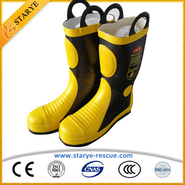 Fire Proof Firefighting Used Fire Fighting Boots