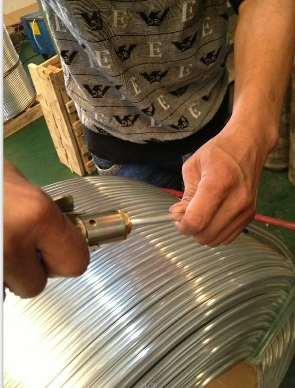 aluminum pipe in refrigeration