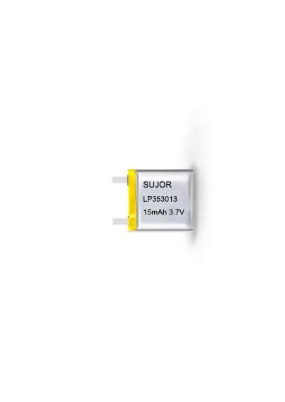 Lithium polymer battery for intelligent ring 3.7V LP353013 15mAh