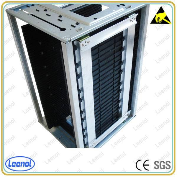 ESD SMT Magazine Rack For PCB Storage SMT PCB Magazine Rack
